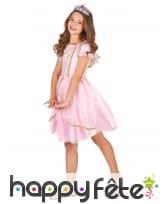 Déguisement robe rose de petite princesse, image 1