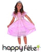 Déguisement robe rose de petite princesse, image 3