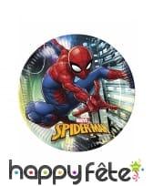 Déco Spiderman à l'action pour table anniversaire, image 7