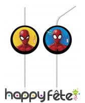 Déco Spiderman à l'action pour table anniversaire, image 3