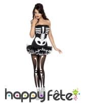 Déguisement squelette corset, image 5