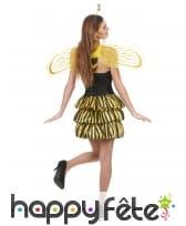 Déguisement sexy d'abeille pour femme, image 2