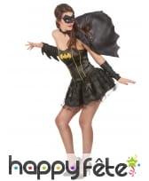 Déguisement sexy de Batgirl avec bustier, image 1