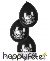 Décoration skull fleuri pour table, image 3