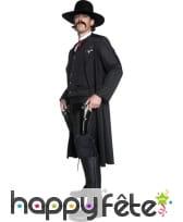Costume de sheriff du western noir, image 1
