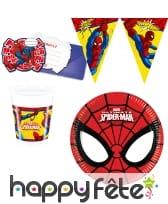 Déco Spiderman pour anniversaire