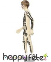 Déguisement seconde peau squelette pour enfant, image 1