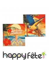 Décorations tropicale beach de table, image 2