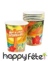 Décorations tropicale beach de table, image 3