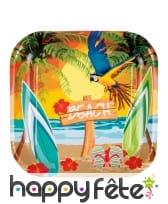 Décorations tropicale beach de table, image 5
