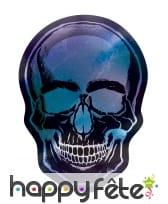 Déco tête de mort pour table de Halloween, image 1