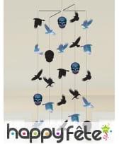 Déco tête de mort pour table de Halloween, image 4
