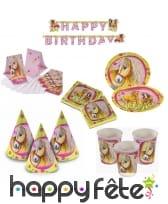 Décorations tête de cheval pour anniversaire