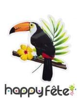 Décorations toucan exotique, image 3