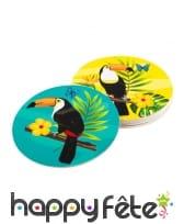 Décorations toucan exotique, image 8