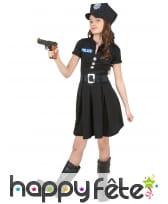 Déguisement uniforme de petite policière, image 3