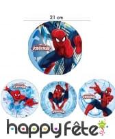 Disque Ultimate Spiderman de 21cm en azyme