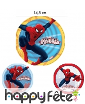 Disque Ultimate Spiderman de14,5 cm en azyme