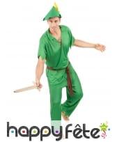 Déguisement vert d'homme du pays imaginaire, image 1
