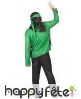 Déguisement vert de hippie, image 2