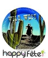 Décorations western wild west d'anniversaire, image 5