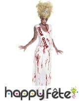 Déguisement zombie reine de la promo
