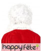 Ensemble barbe et perruque blanche de papa Noël, image 2
