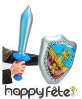 Ensemble bouclier et épée gonflable, image 1
