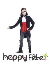 Elégant costume de vampire pour enfant