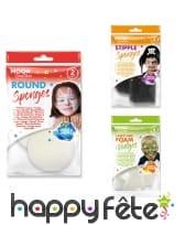Eponges cosmétiques pour le visage