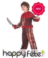 Ensemble de clown de Halloween pour enfant, image 1