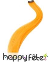 Extention de cheveux orange