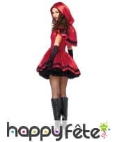 Elégant déguisement de chaperon rouge pour femme, image 1