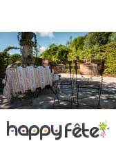 Etiquette Dos de chaise de mariés de 13x20cm, kraft, image 2