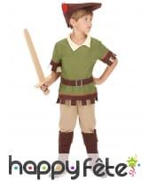Ensemble de garçon des bois pour enfant