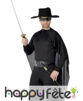 épée et masque de zorro