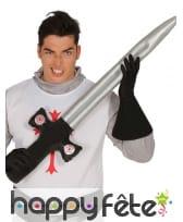 Epée gonflable de chevalier de 103 cm