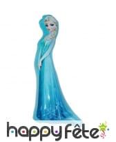 Elsa gonflable et lumineuse. Reine des neiges