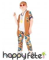 Ensemble hippie motifs années 60 pour enfant, image 1