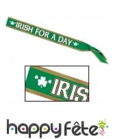 Écharpe Irish for a day