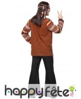 Ensemble marron noir de hippie pour homme, image 3