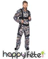 Ensemble militaire pour homme adulte