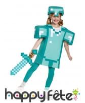 Epée Minecraft pour enfant, image 1
