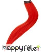 Extension pour cheveux rouge
