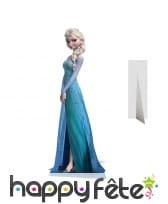 Elsa reine des neiges en carton taille réelle