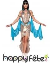 Elégante tenue de reine Egyptienne premium