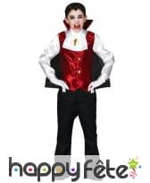 Elégante tenue de vampire pour enfant