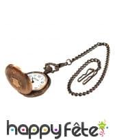Fausse ancienne montre à gousset cuivre