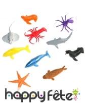 Figurine animaux marins, 4/5cm