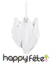 Fantôme blanc à suspendre 50x40cm